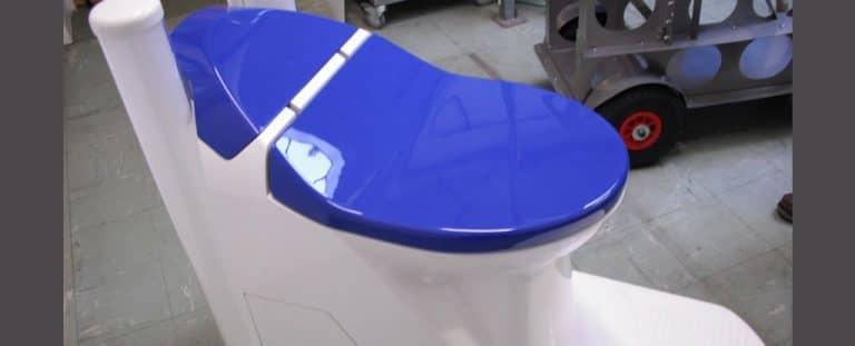 Nano membrane waterless toilet