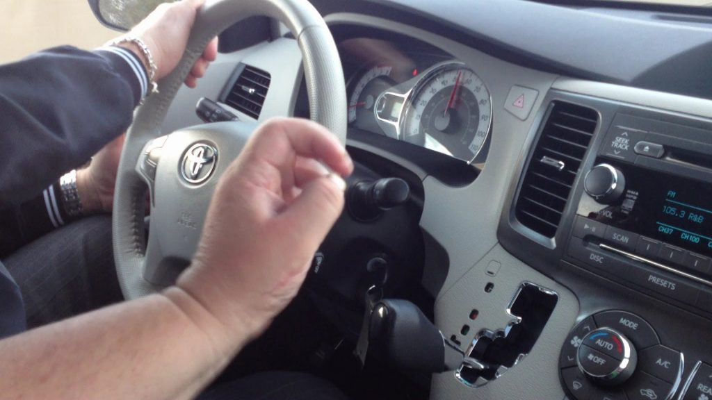Reverse while driving