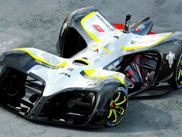 Roborace Electric Formula E Autonomous Car (3)