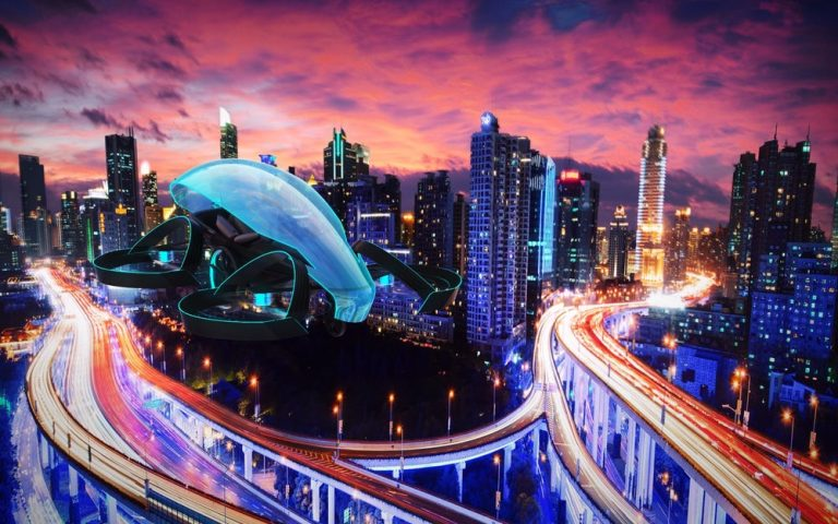 SkyDrive Toyota Flying Car (1)