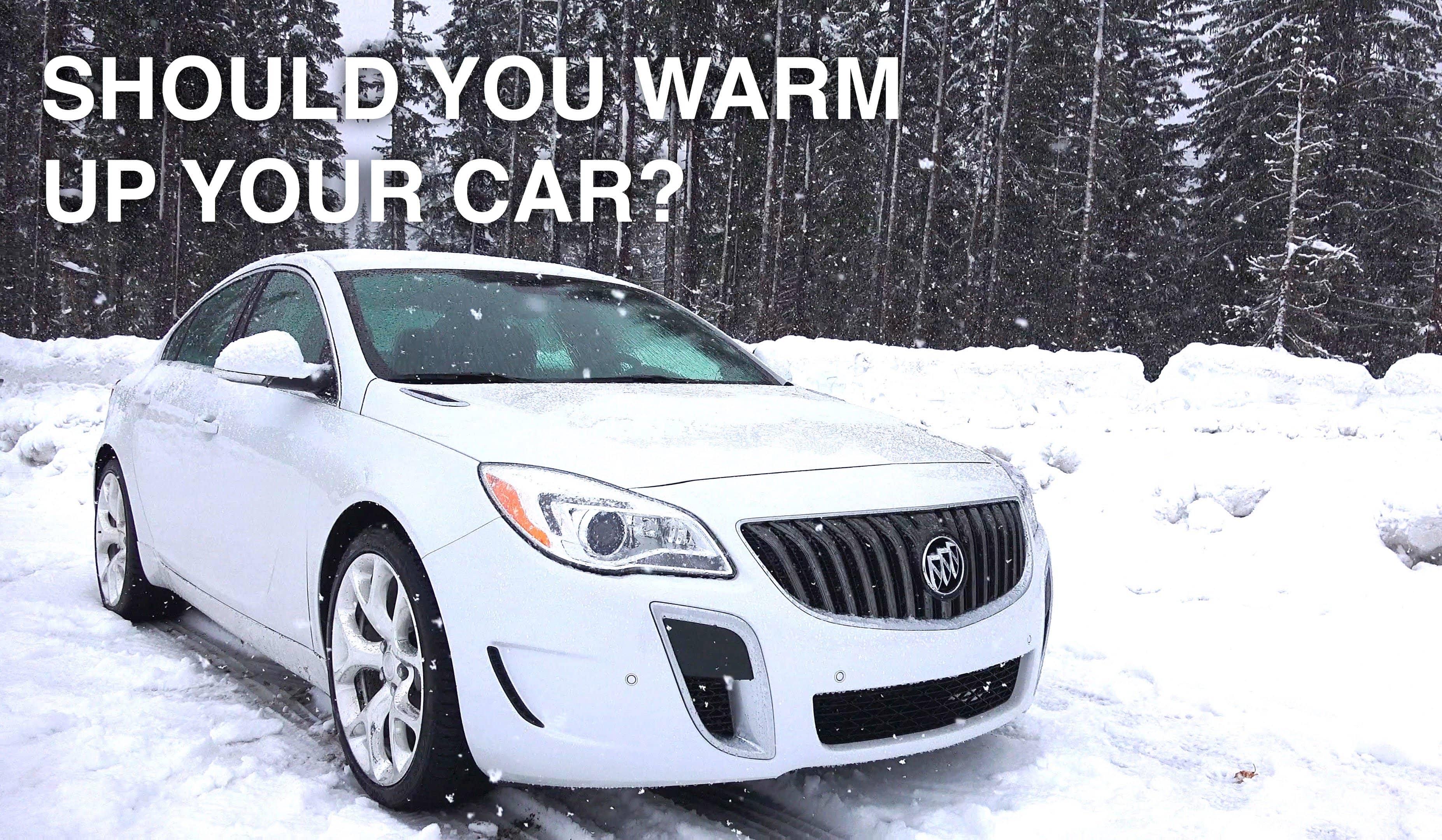 Warm up car