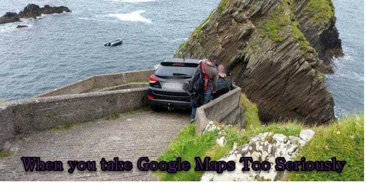 Google Maps Error Sends Hundreds Of Tourists To A Small ...