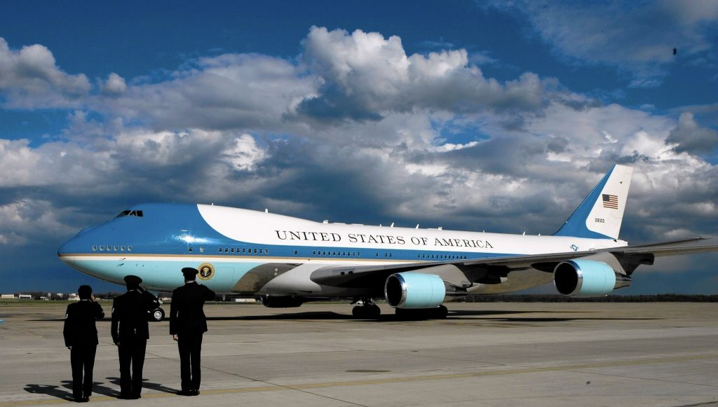 air force one damage