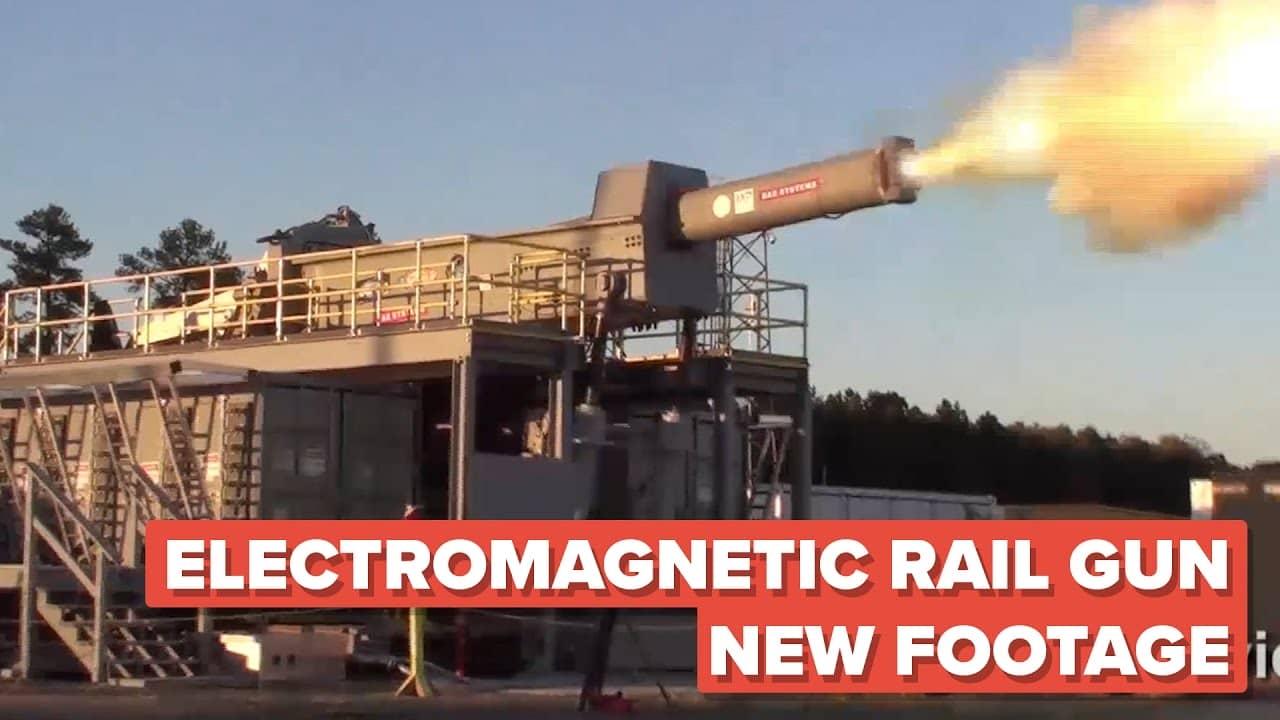 electromagnetic rail gun