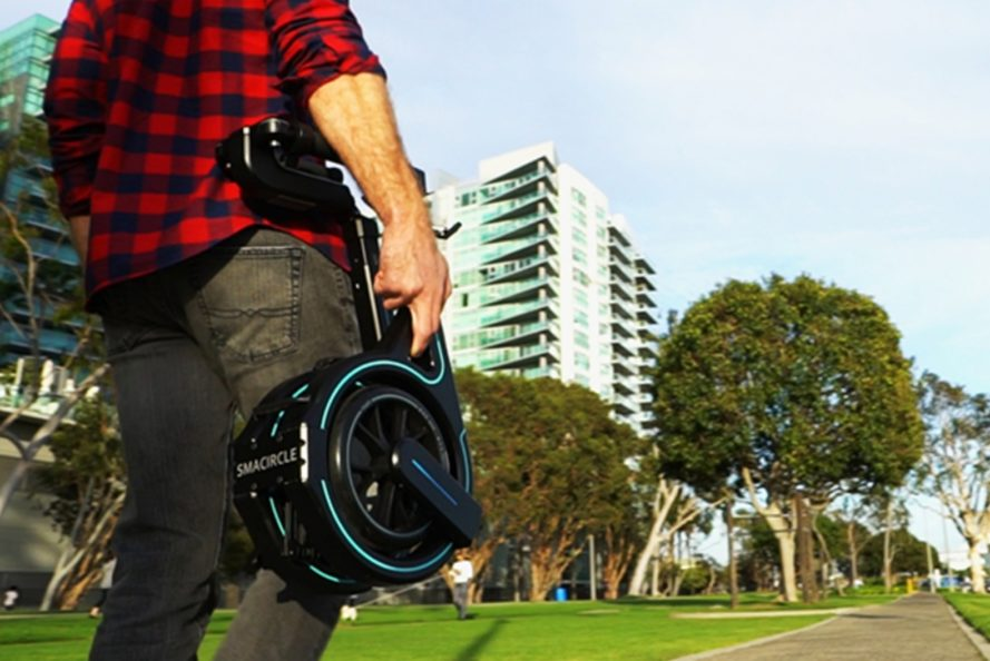 This Foldable Electric Bike Can Even Fit Into Your Backpack