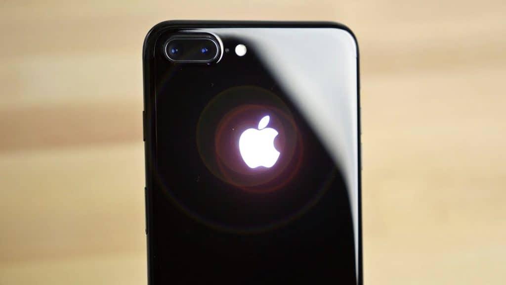 iPhone 7 glowing logo DIY Kit 1