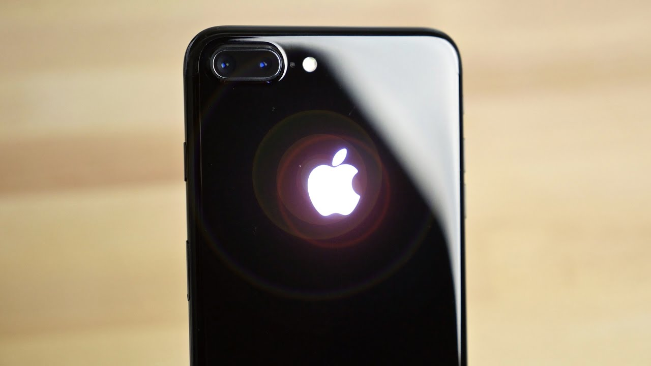 iPhone 7 glowing logo DIY Kit 1
