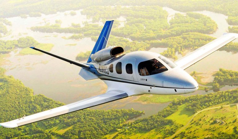 Cirrus Vision – World's First Ever Private Jet That Comes With It's Own Parachute In Case Of Emergency