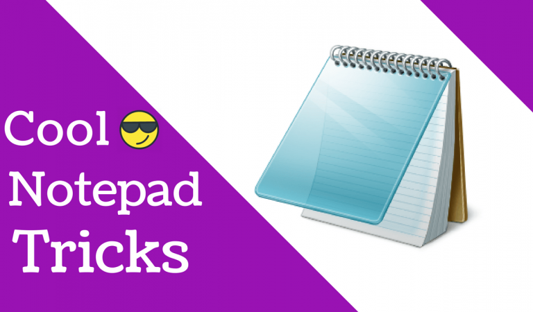 Here Are 20 Coolest Notepad Tricks And Hacks That You Did Not Know Before