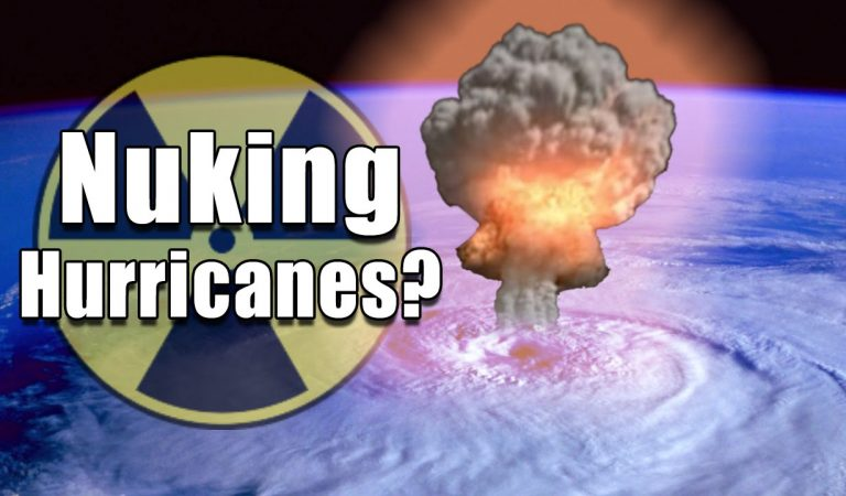 Can We Stop A Hurricane If We Nuke it? The Answer Will Blow Your Mind