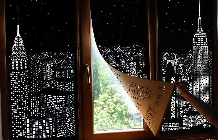 These Blackout Blinds Curtains Will Turn Your Windows Into A Beautiful Skyline