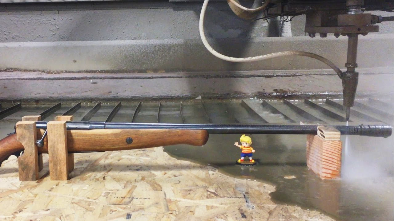 waterjet slice shotgun