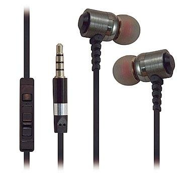 Super High Clarity Metal Noise-Isolating Heavy Duty 3.5mm Stereo Earbuds