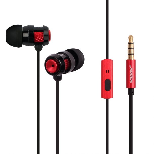 Earbuds In-Ear Premium Bass Earphones, 3.5mm Jack HD Stereo