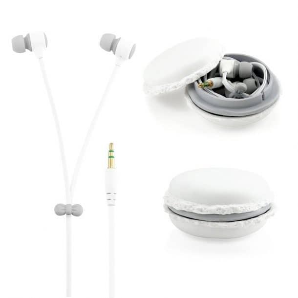 White 3.5mm In Ear Earphones
