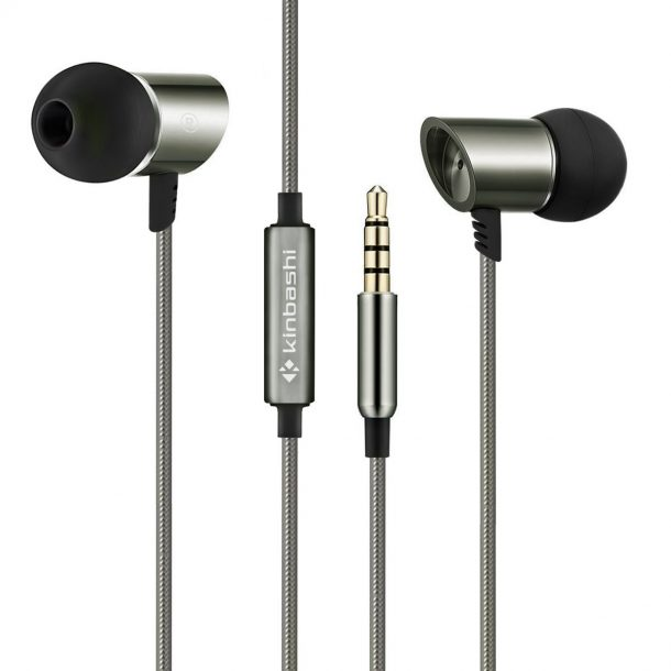 Kinbashi Noise Isolating Earbuds w/ Mic and Remote