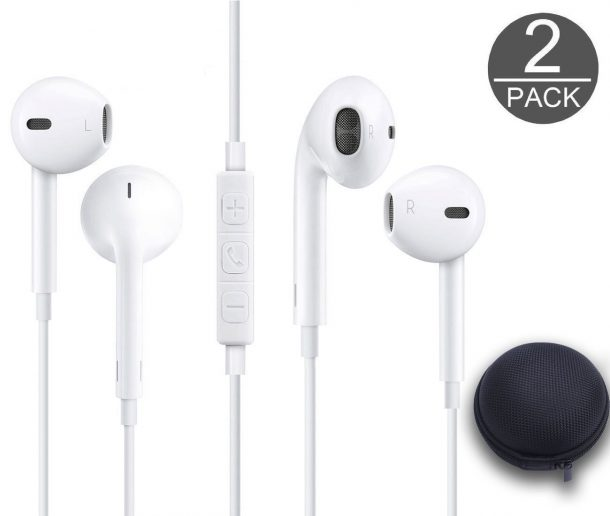 SYCellular 3.5MM Wired Earphones with Carry case