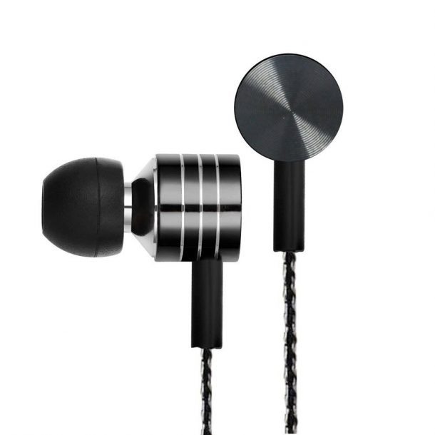 In-Ear Earbuds w/Mic Stereo & Volume Control Noise-isolating earphones for Oppo F3