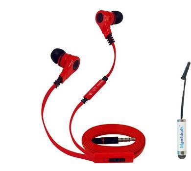 Super Bass 3.5 mm Stereo Earphone w/Mic & Volume Control