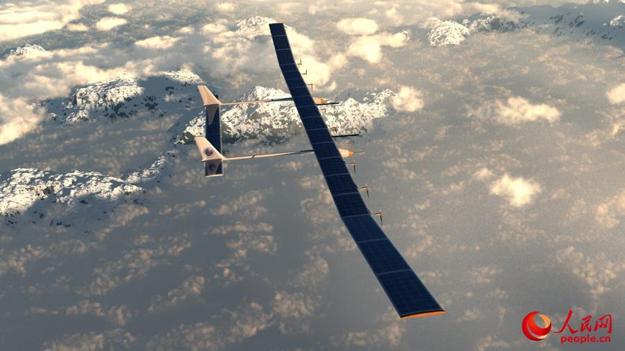China S Largest Solar Powered Drone Can Stay Aloft For Months