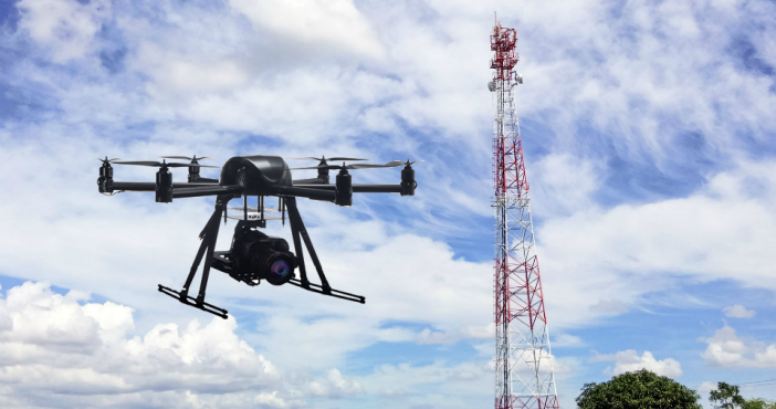 Drone for cellular coverage