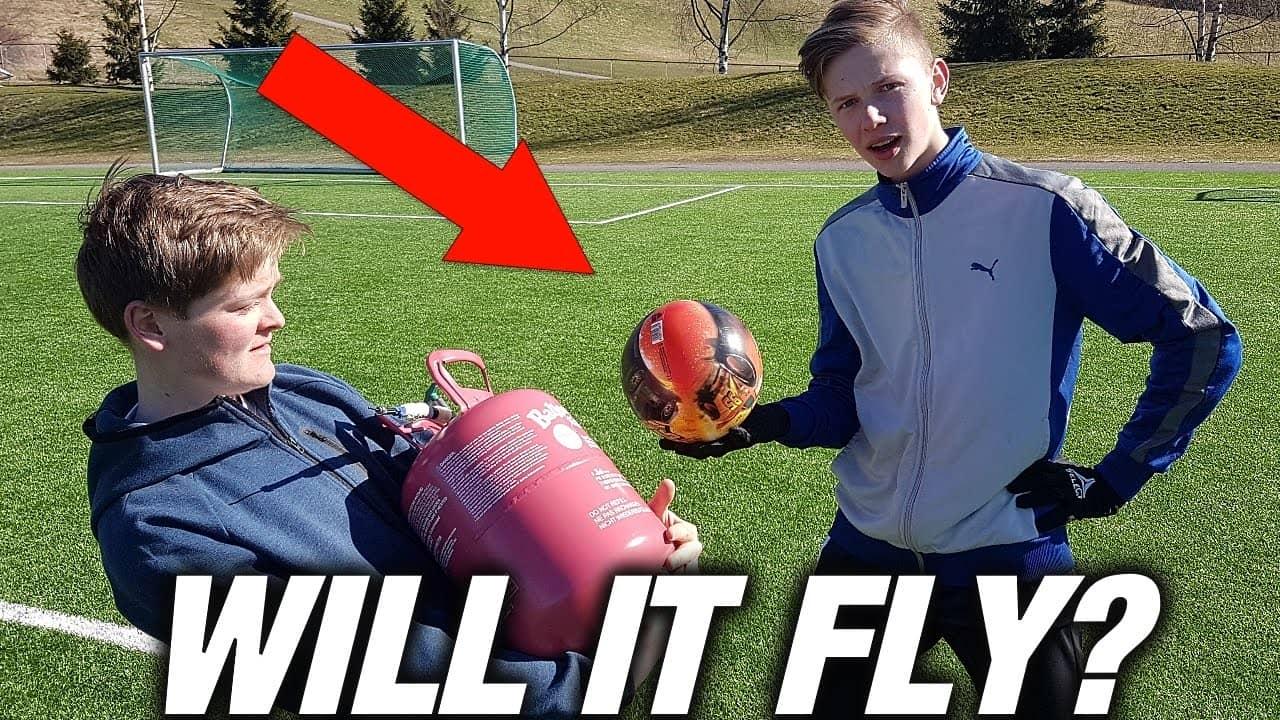 helium football