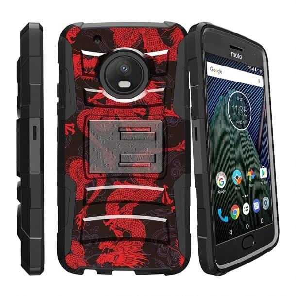 Miniturtle Case For Motorola Moto X4