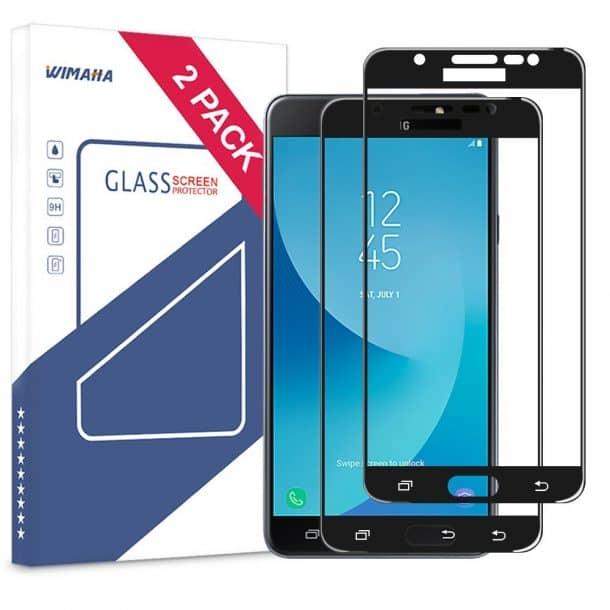 Wimaha Samsung Galaxy J7 Max Screen Protector