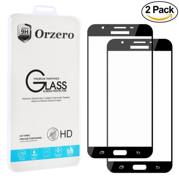 Orzero Samsung Galaxy J7 Pro Screen Protector