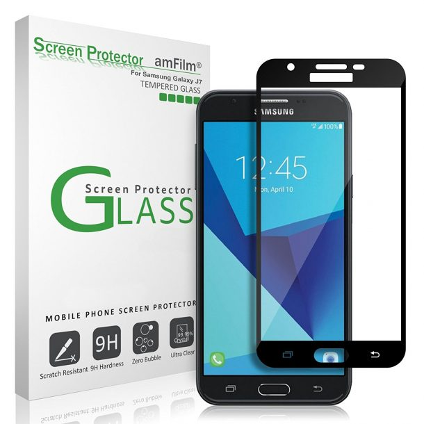 amFilm Samsung Galaxy J7 Pro Screen Protector
