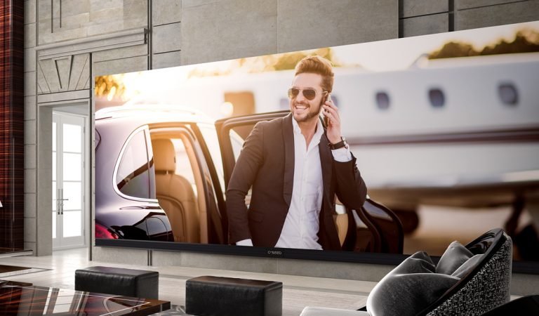 This 262-Inch 4K TV Is A Must Have For Your Luxury Home