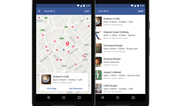 Facebook Just Launched A New Feature That Will Find You WiFi Hotspots Nearby