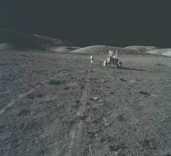 theory apollo 11 lunar landing - photo #20