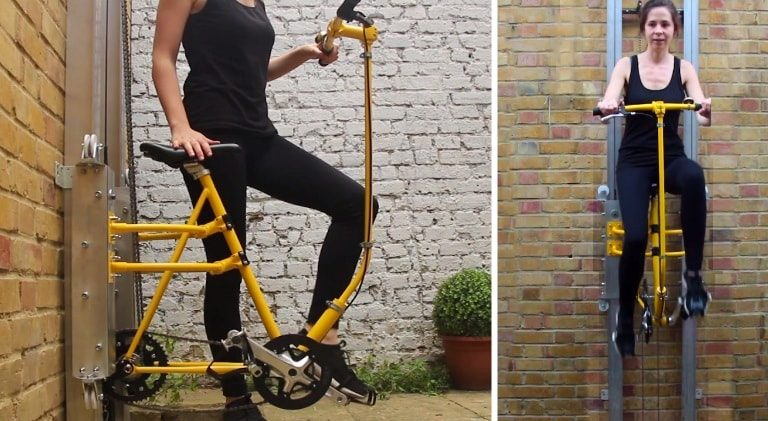 This Human Powered Lift Will Let You Pedal To The Next Floor