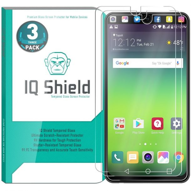 IQShield LG V30 Screen Protectors