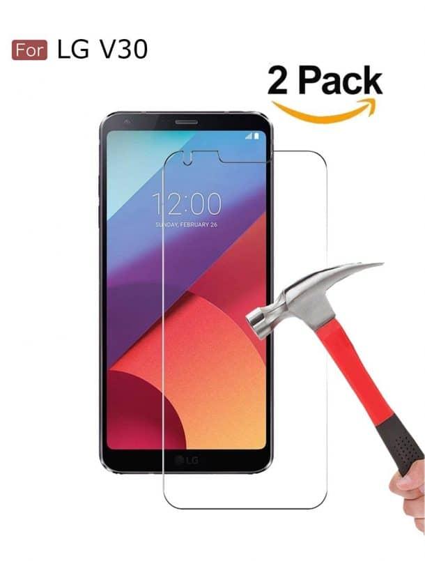 Wellci LG V30 Screen Protectors