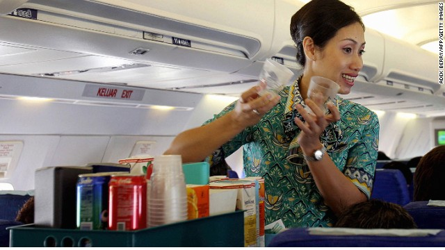 This Is Why Flight Attendants Hate It When You Order Diet Coke On A Flight