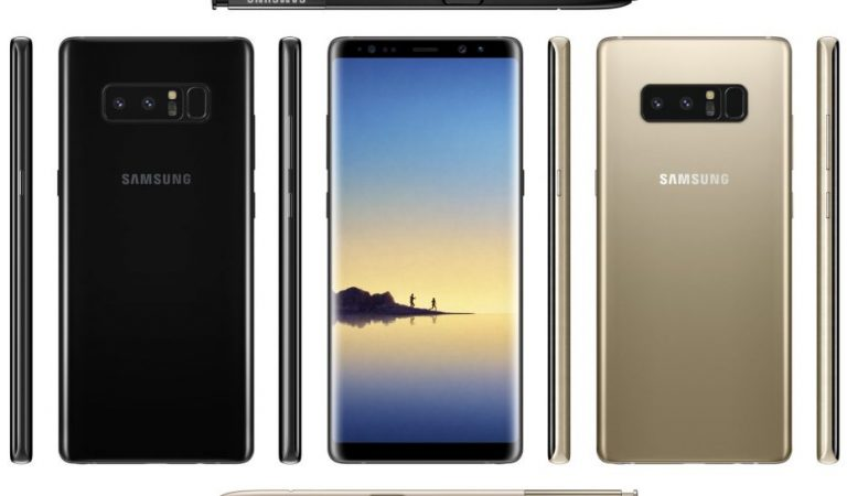 Samsung Galaxy Note 8 Specifications Revealed In A Mega Leak