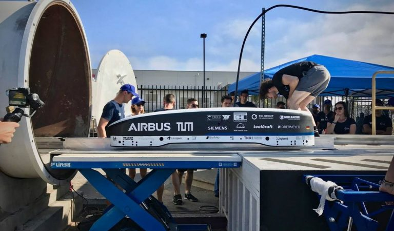 Hyperloop Competition Winner Hits Speed Of 200 Mph