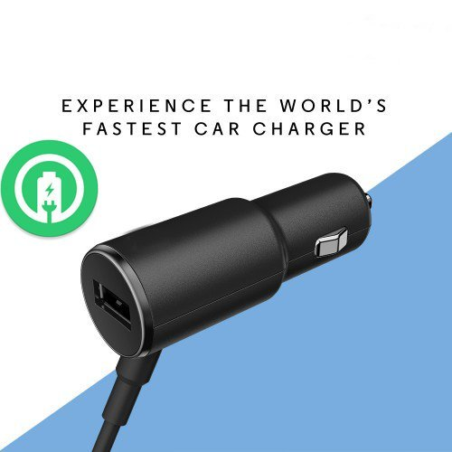 Turbo Power 25W Q6 Car Charger with EXTRA USB Port