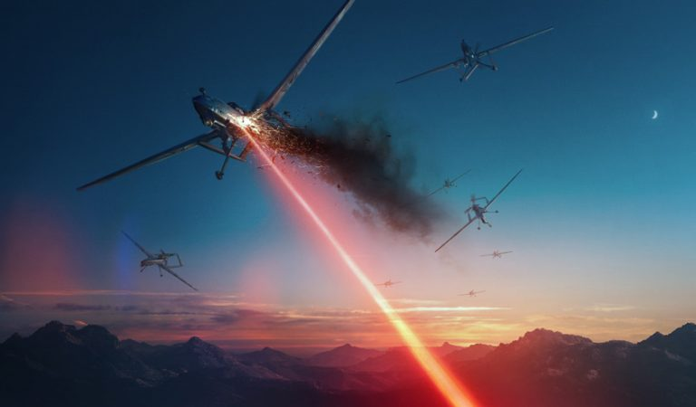 Lockheed Just Developed A Laser Weapon To Shoot Down Aerial Drones