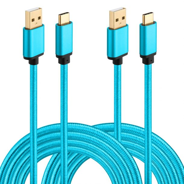 USB Type C Cable 10ft, HI-CABLE 2 Pack USB A to USB C