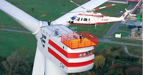 Take A Look At Enercon E126 – The World's Most Powerful Wind Turbine