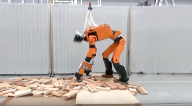 Honda Has Designed A Disaster Response Robot That Can Even Climb Ladders