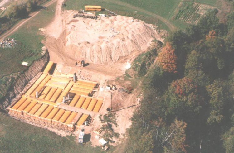 Guy Buried 42 School Buses In The Ground To Make His Own Doomsday Underground Shelter on Underground Concrete Home Plans