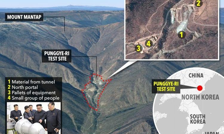 200 Dead As Tunnel Collapses At The North Korea Nuclear Test Site