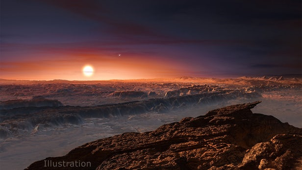 Newly discovered planet could be home to alien life