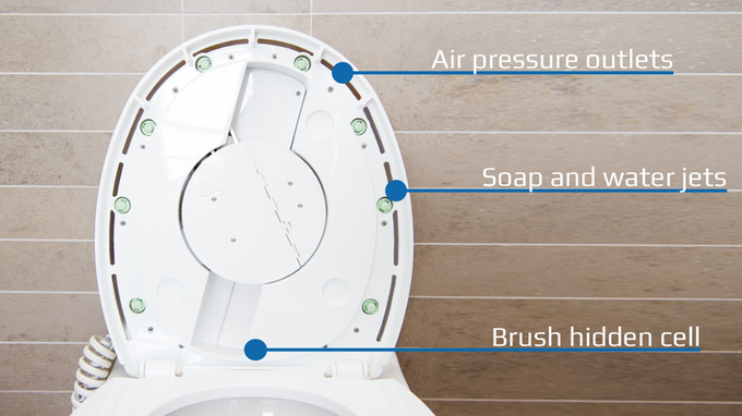 This $250 Robot Will Scrub Your Toilet Clean In Just 90 Seconds