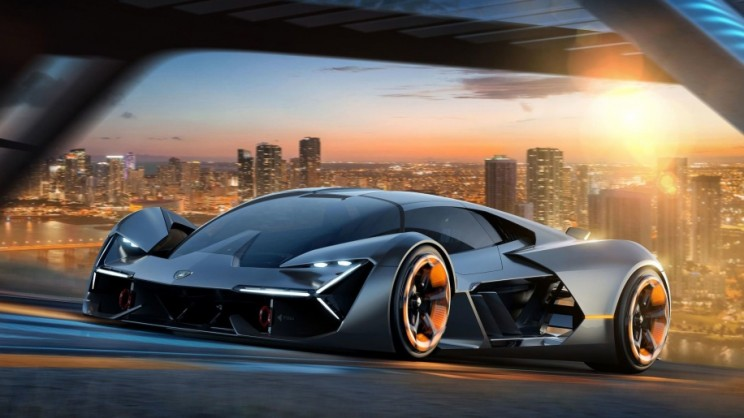 This Self Healing Electric Car Developed By Lamborghini Doesn't Need Batteries