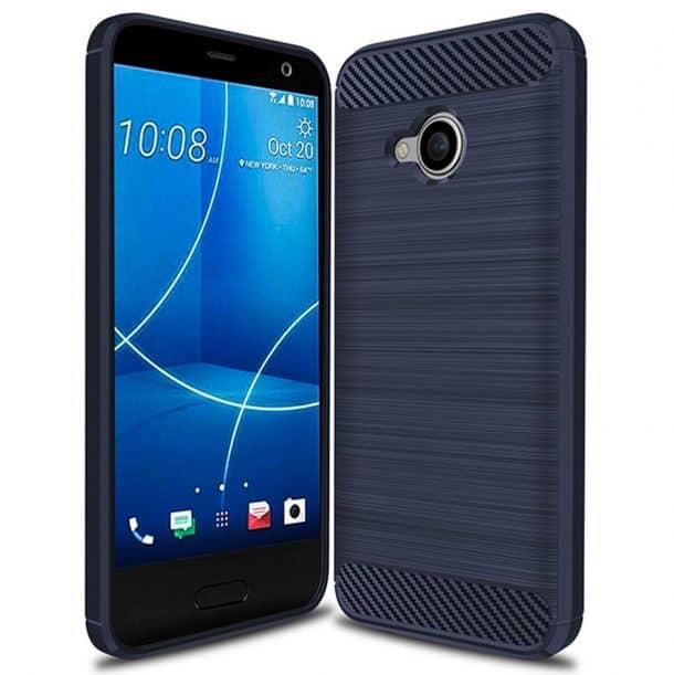 PUSHIMEI Soft TPU Brushed Phone Case
